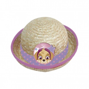 Nickelodeon sun hat straw Paw Patrol girls cream size 50
