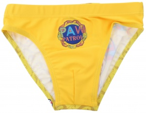 Nickelodeon swimming trunks Paw Patrol boys yellow
