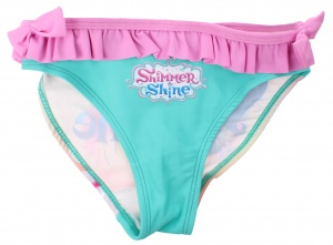 Nickelodeon swimsuit Shimmer en Shine aqua girls