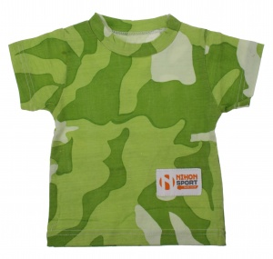 Nihon T-Shirt Baby Camouflage boys green