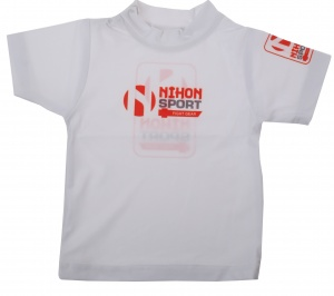 Nihon T-Shirt Baby junior weiß