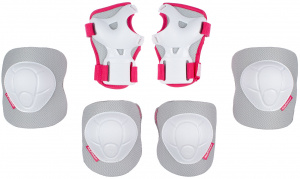 Nijdam kit de protection White OutEVA/PE/PP blanc/rose en 3 parties