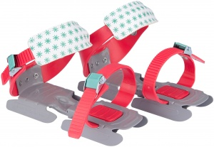 Nijdam flocon de neige réglable junior rouge