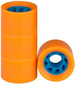 Nijdam Räder für Flip Grip board60 x 39 mm orange