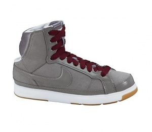 Nike sneaker Air Troupe Mid dames grijs