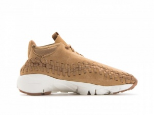 Nike sneakers Air Footscape Woven Chukka heren beige