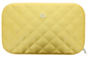 Ögon Designs clutch Rfid Lady Bag 20.5 cm aluminum gold