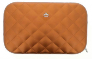 Ögon Designs clutch Rfid Lady Bag 20.5 cm aluminum orange