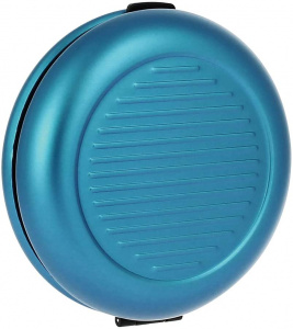 Ögon Designs coin holder 8.5 cm aluminium blue