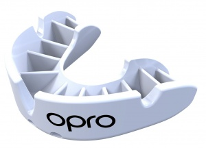 Opro sports bit Self-Fit GEN4 bronze junior white