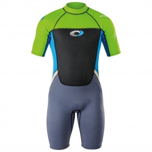 Osprey wetsuit Origin shorty 3/2 mm heren groen/blauw