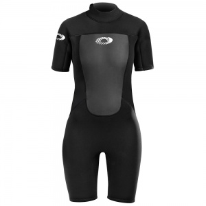 Osprey wetsuit Origin shorty 3/2 mm dames zwart