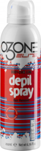 Ozone Elite ontharingscrème Depil Spray heren 200 ml wit/rood