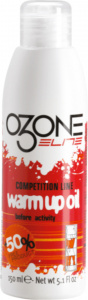 Ozone Elite olie Warm Up Oil 150 ml wit/rood