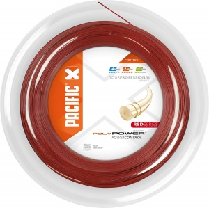 Pacific squashsnaar PC Poly Power 1,25 mm 200 meter rood