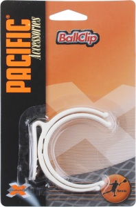 Pacific tennisbalhouder riem wit