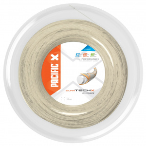 Pacific tennis string Duratech X 1.35 mm 200 metres natural