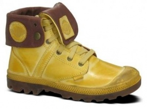 Palladium Pallabrouse Baggy L2 Veterboots Dames Geel