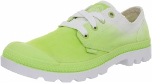 Palladium Veterschoenen Blanc Oxford Dames Groen