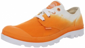 Palladium Veterschoenen Blanc Oxford Dames Oranje