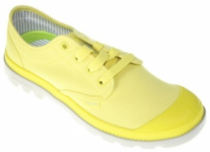 Palladium Veterschoenen Pampa Oxford Lite Dames Geel