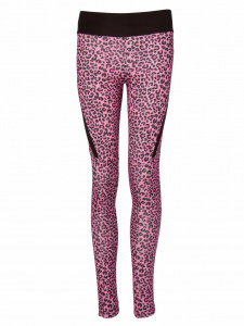 Papillon dansbroek lang junior polyester roze