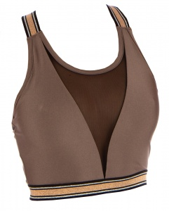 Papillon sports bra ladies brown