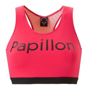 Papillon sports bra ladies pink