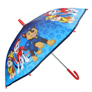 Nickelodeon children's umbrella Paw Patrol 70 cm polyester/stainless steel blue