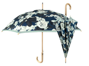 Perletti umbrella ladies 102 cm green