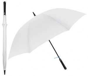 Perletti umbrella Wave wind test 102 x 132 cm microfibre white