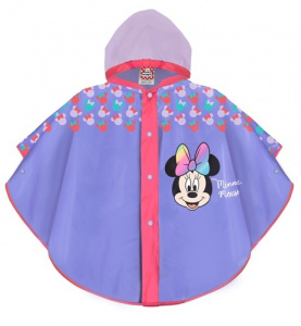 Perletti raincoat Minnie Mouse girls EVA purple 2-5 years