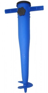 Pincho umbrella holder 23-35 mm plastic 32 cm blue