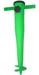 Pincho parasol holder 38-50 mm plastic 40 cm green