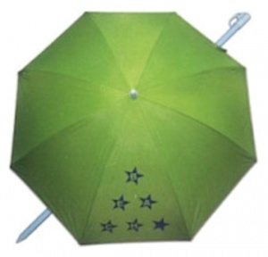 Pincho beach umbrella 180 cm polyester UV-resistant green