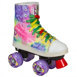 Playlife rolschaatsen Funky LED junior