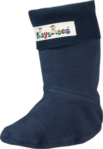 Playshoes fleecesokken junior donkerblauw