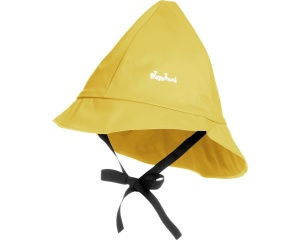 Playshoes rain hat with cotton lining junior yellow 53 cm