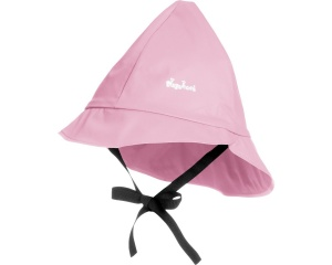 Playshoes rain hat with cotton lining junior light pink 47 cm