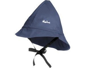 Playshoes rain hat with cotton lining junior navy 47 cm