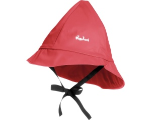 Playshoes rain hat with cotton lining junior red 47 cm