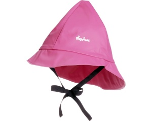 Playshoes rain hat with cotton lining junior pink 49 cm