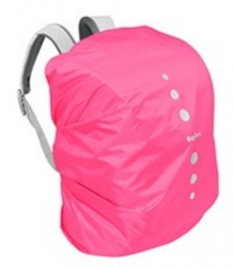 Playshoes regenhoes rugzak polyester 15-30 liter roze maat M