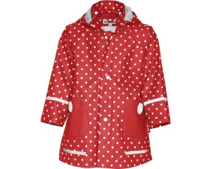 Playshoes impermeable con lunares rojo junior talla 104
