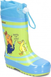 Playshoes rain boots Friends 4 Ever blue/green
