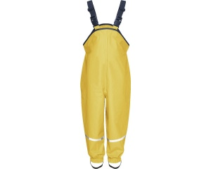 Playshoes rain garden pants yellow