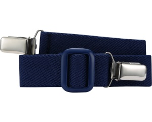 Playshoes riem elastisch met clip navy junior