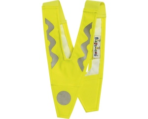 Playshoes Safety collar junior yellow 40 x 21 cm