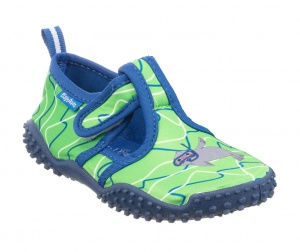 Playshoes water shoes seal boys blue/green