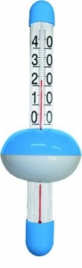Pool Expert Thermometer dobber groot blauw/wit